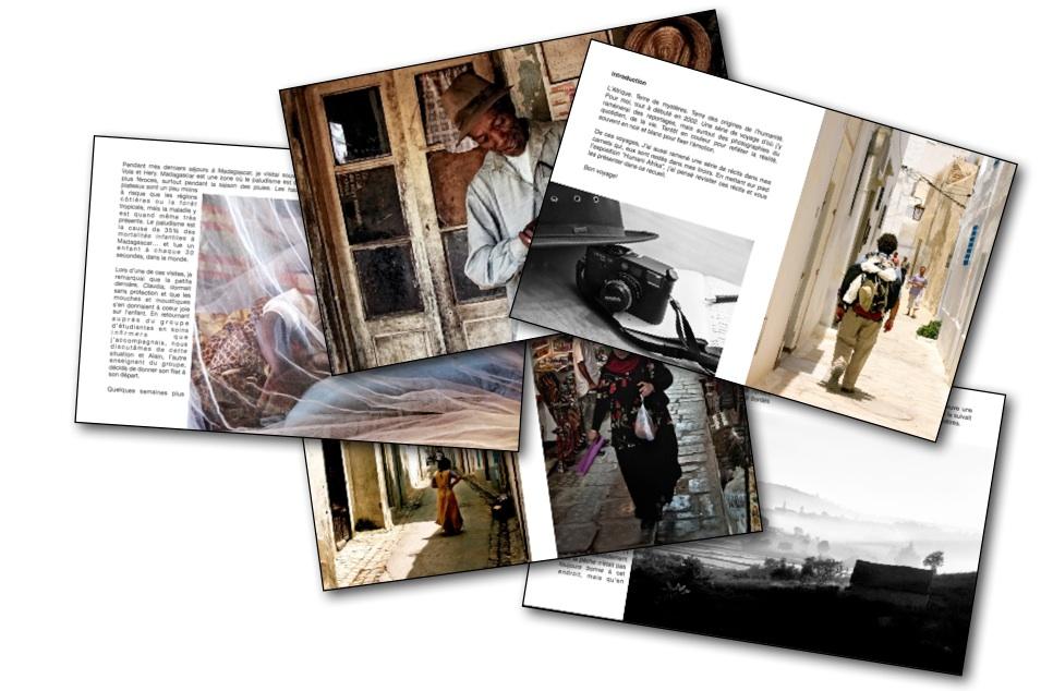 Les carnets Humani Afrika - Marc-André Pauzé photographe