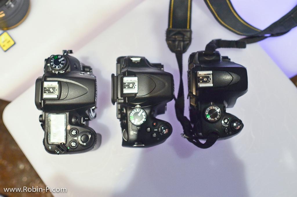 Comparaison Nikon D5100 - D7000 - D60