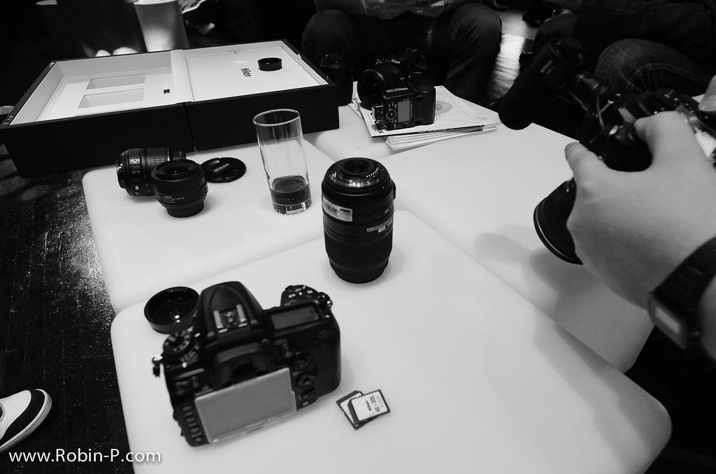 Effet Noir et Blanc avec le Nikon D5100