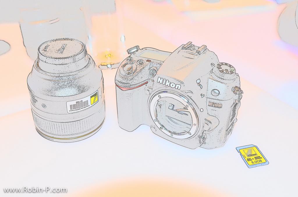 Effet Sketch avec le Nikon D5100