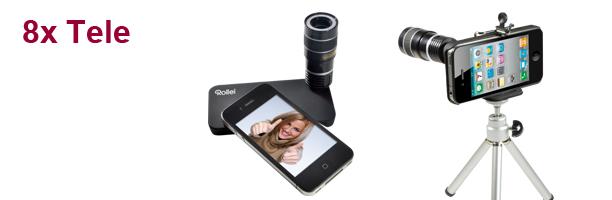 téléobjectif Rollei pour l'iPhone 4
