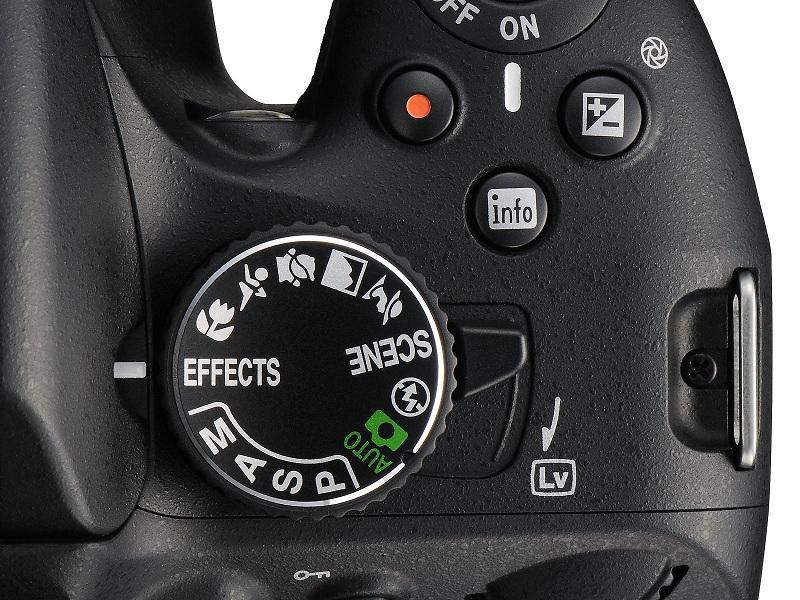 Molette de commande du Nikon D5100