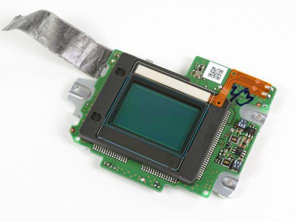 Nikon D5100 capteur