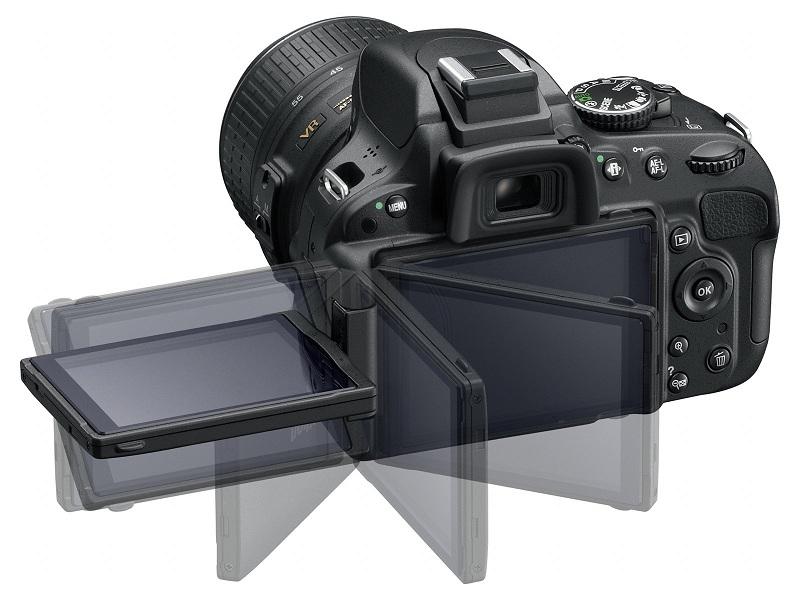 Nikon D5100 écran orientable