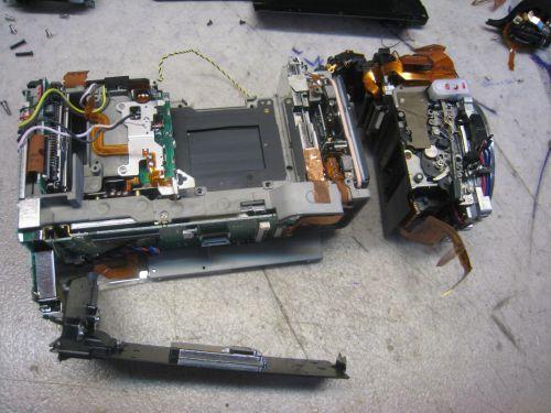faire réparer un appareil photo numérique