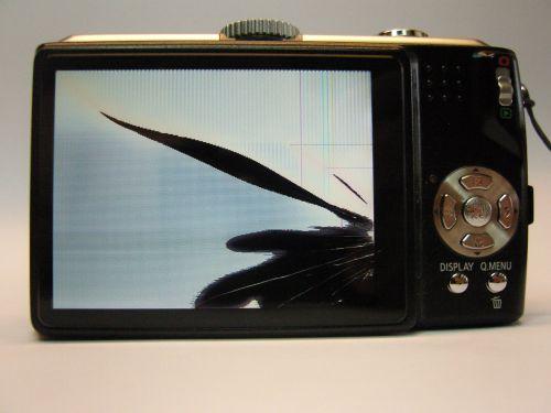 faire changer l'écran LCD cassé d'un appareil photo