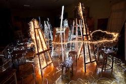 Lightpainting, nouvelle exposition de Jadikan LP à la Galerie Talbot, Paris