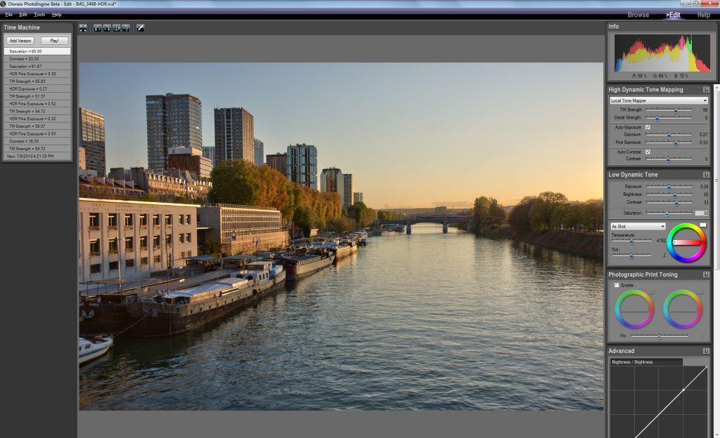 Oloneo annonce la sortie du logiciel HDR PhotoEngine 1.0 en version finale