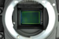 vue du capteur Nikon DX