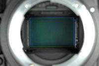 vue du capteur Nikon FX