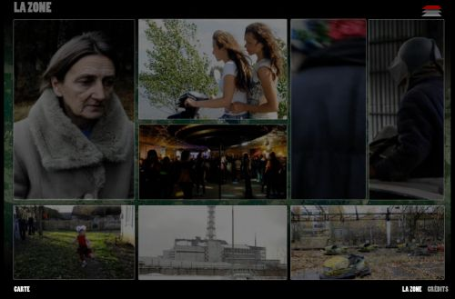Voir le web documentaire de Guillaume herbaut sur la zone d'exclusion à Tchernobyl