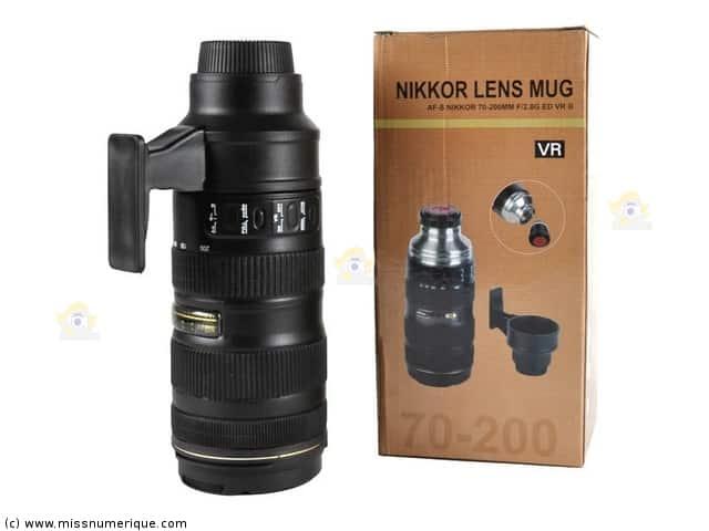 gadget Nikon objectif 70-200mm thermos