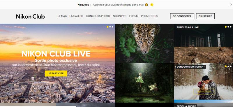 Site Nikon Club