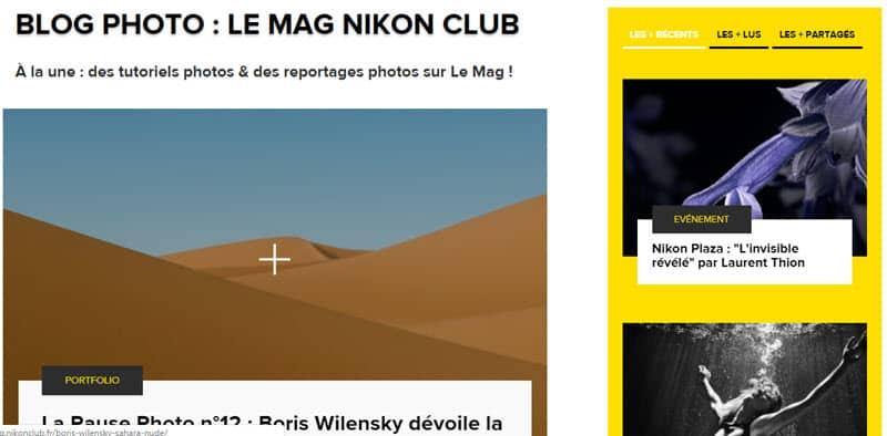 Nikon Le Mag, reportages photos et tutoriels