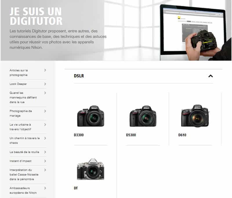 Nikon Digitutor