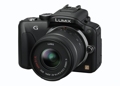 vue de profil du Panasonic Lumix G3