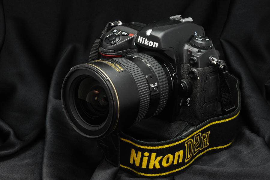 Vue du Nikon D2H