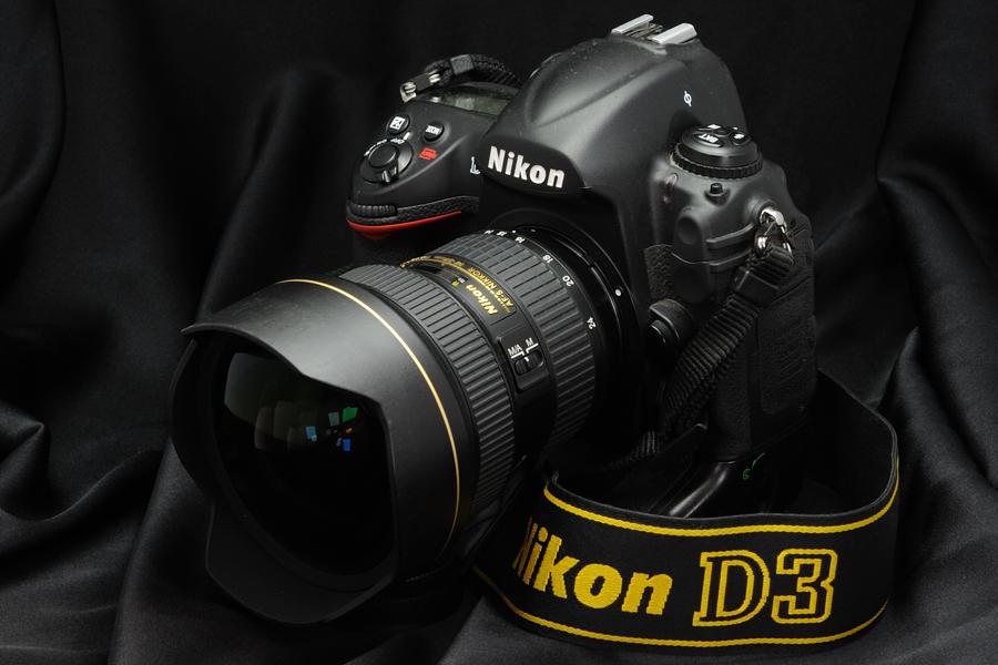Vue du Nikon D3