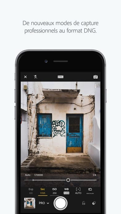 Lightroom Mobile application - 10 applications pour Instagram pour les photographes