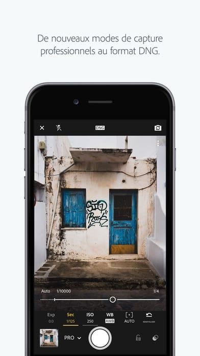 Lightroom Mobile application - 10 applications pour Instagram pour les photographes