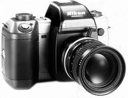 protoype d'appareil photo numérique reflex Nikon