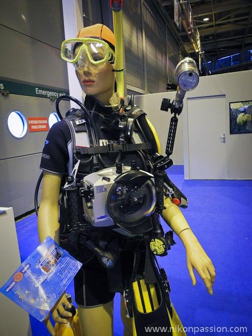 appareil photo pour aller sous l'eau et photo sous-marine