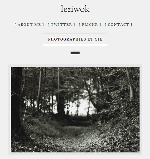 exemple de site Tumblr pour projet photo 365