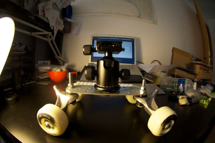 tutoriel comment fabriquer un Spider Trax Dolly