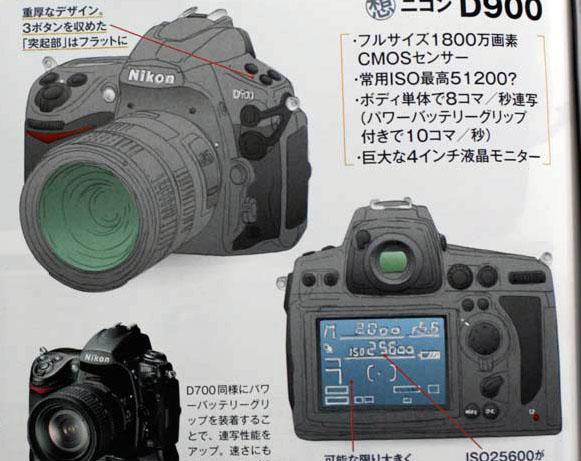Aperçu du nouveau Nikon D900 et du nouveau Nikon D400