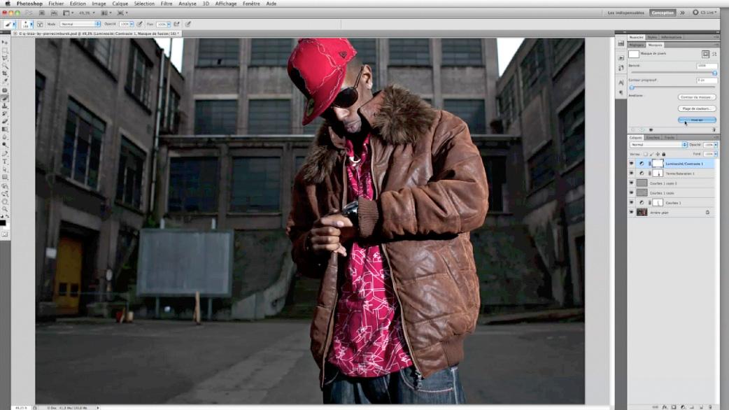 tutoriel traitement d'image dans Photoshop par Pierre Cimburek
