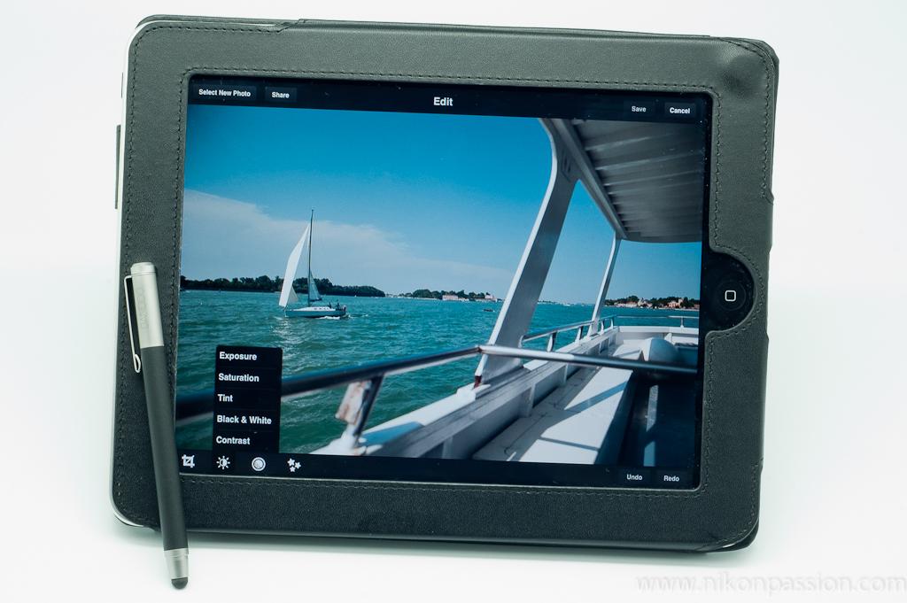 Test du stylet Wacom Bamboo Stylus avec la tablette Apple iPad