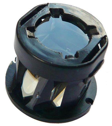 le prisme de Porro utilisé dans le téléobjectif 8x Rollei pour iPhone