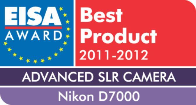 Le Nikon D7000 désigné comme meilleur reflex numérique avancé aux EISA Awards