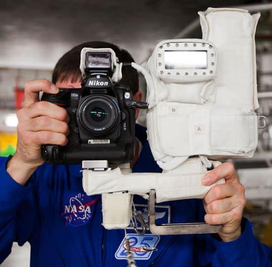 Nikon D2Xs spécial NASA : un Nikon dans l'espace