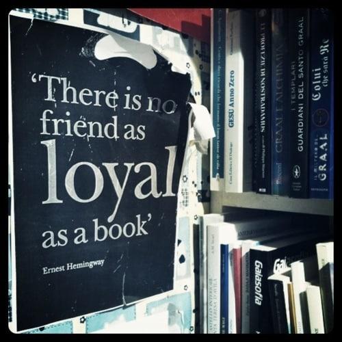 Citation d'Ernest Hemingway sur l'intérêt du livre
