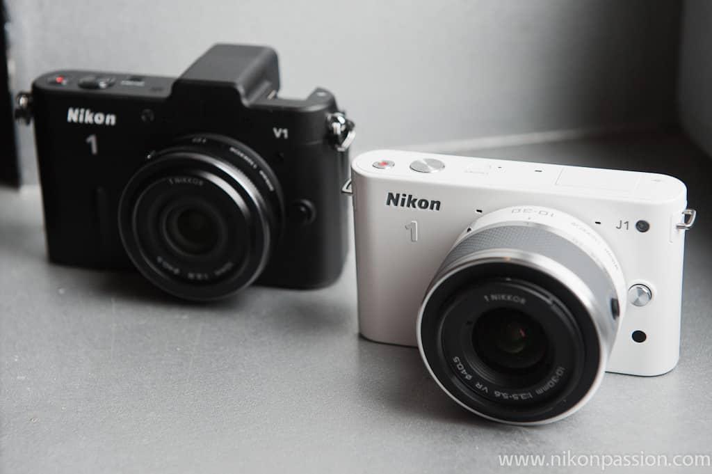 Premières impressions sur les Nikon One J1 et V1