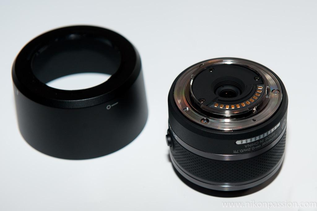 mise à jour firmware objectifs Nikon One