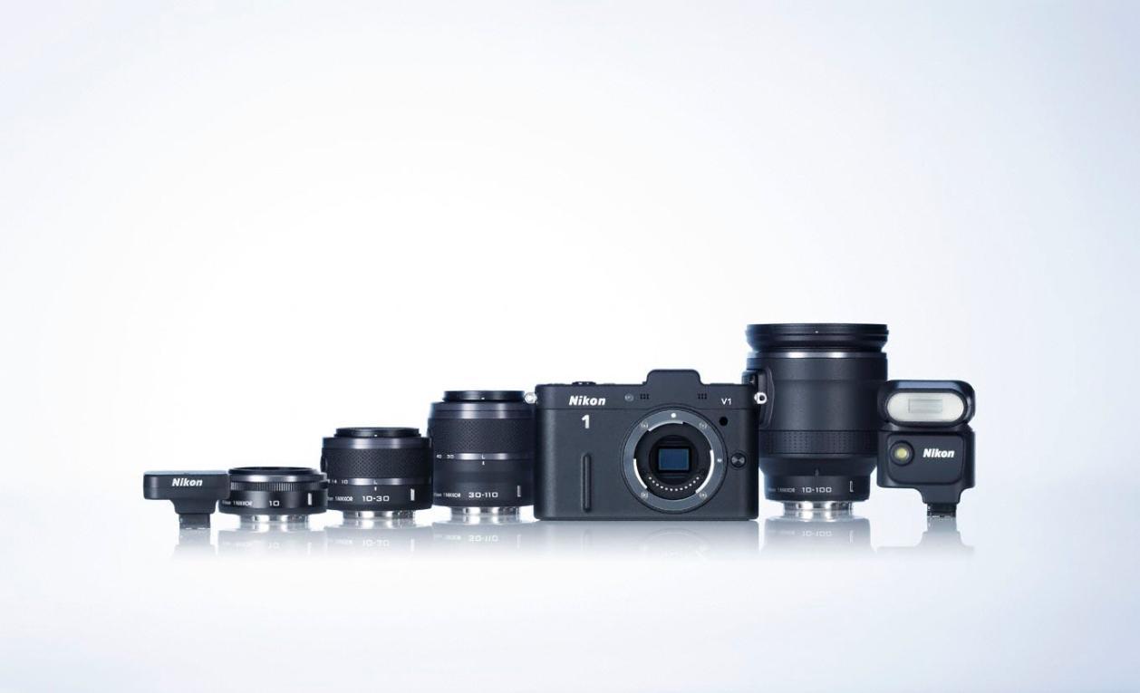 Nikon 1 J1 et Nikon 1 V1, les nouveaux hybrides CX