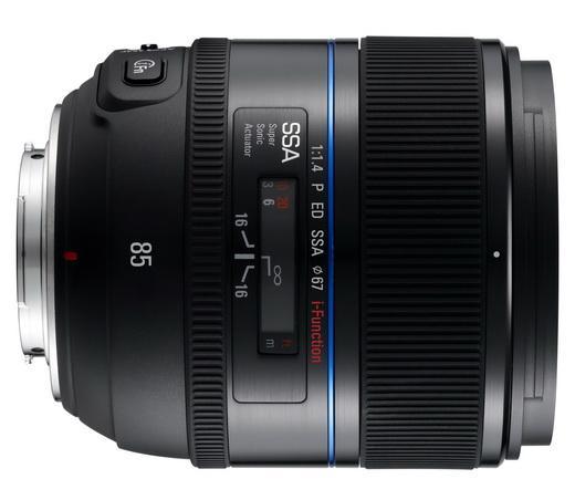 Samsung NX 85mm f1/1.4