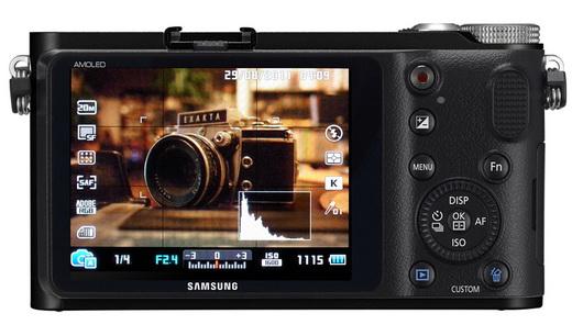 Nouveau Samsung NX200, 20Mp et capteur APS-C