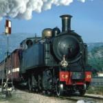Train à vapeur des Pignes en Provence