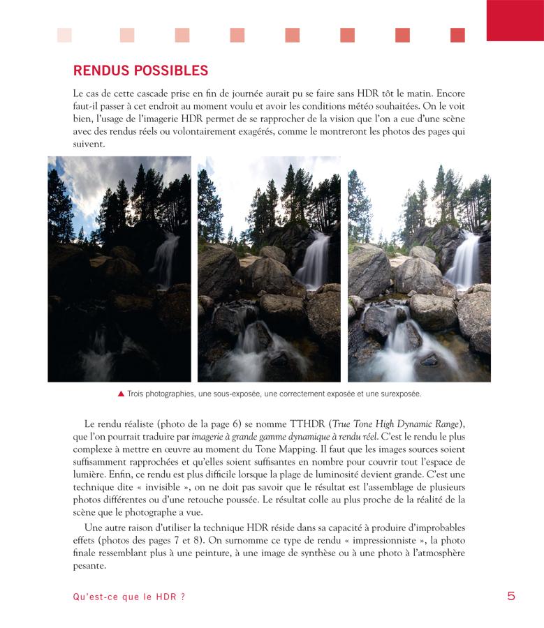 extrait du livre Photographie HDR de Pierre-henry Muller - les types de rendus HDR