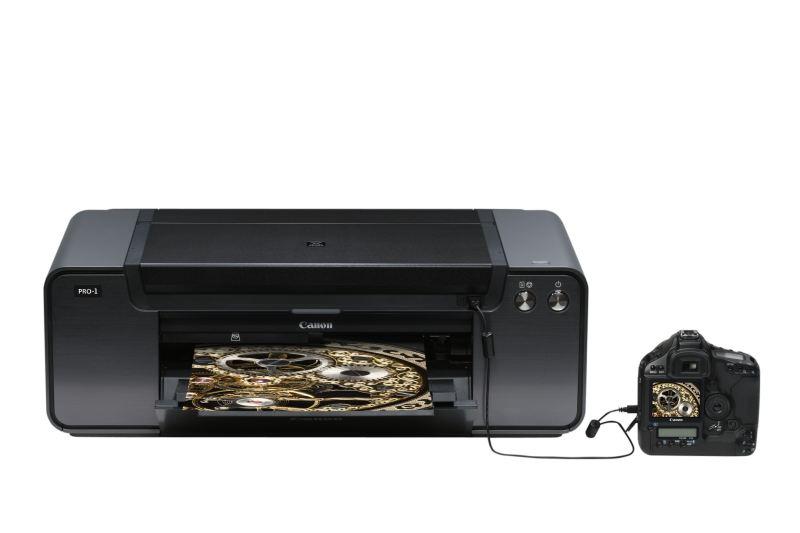 imprimante canon pixma pro 1 format a3 et 12 cartouches. Black Bedroom Furniture Sets. Home Design Ideas