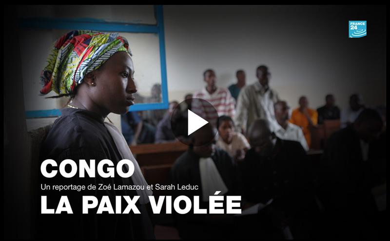 Congo, la paix violée, web documentaire