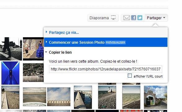 Flickr Photo Session, partagez vos images en privé et échangez en direct