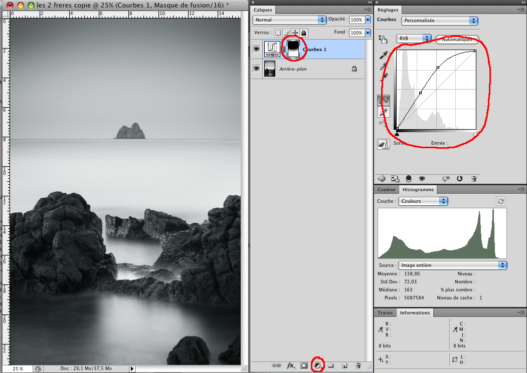 comment faire photo pose longue photographique en numérique - dossier tutoriel