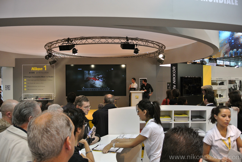 Stand Nikon au Salon de la Photo 2011