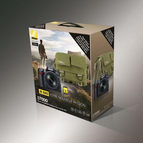 pack promo nikon D7000 avec sac photo national geographic