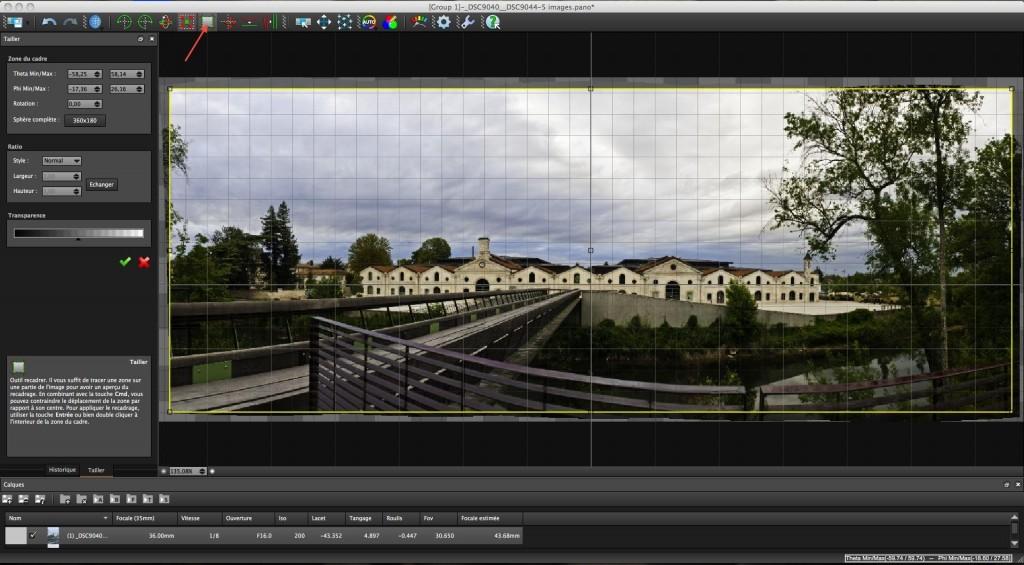 Tutoriel Photo panoramique avec Lightroom et Autopano