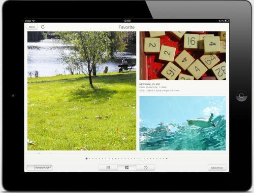 Application iPad MyPictureTown Nikon